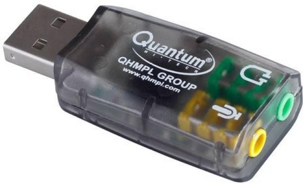qhm Sound Card Sound Card (Multicolor) USB Internal Sound Card