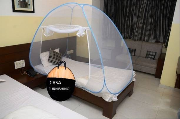 CASA FURNISHING Polyester Adults MN-P-SINGLE-SB Mosquito Net