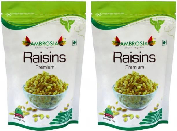 AMBROSIA Premium Green Raisins 250g - Extra Long Raisins