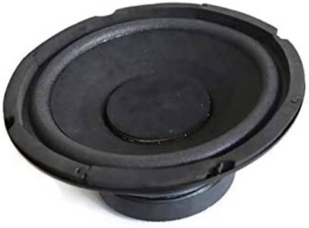 LOUD & FURIOUS SW595 Heavy 6 inch Woofer black and Golden colour Subwoofer