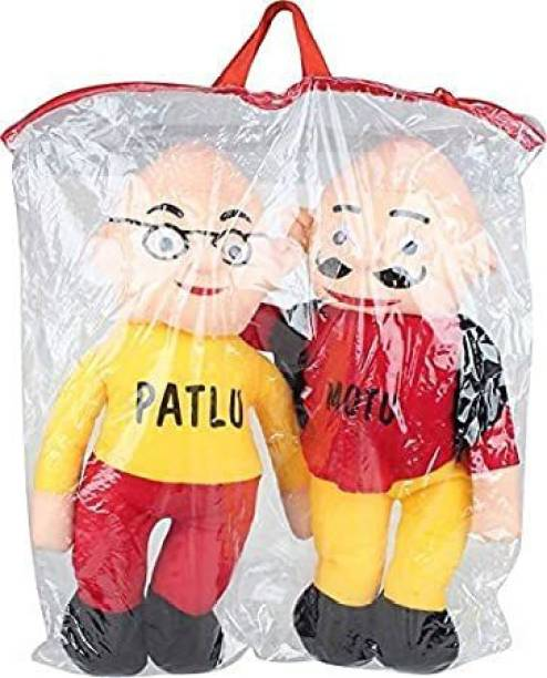 REMVO Stuffs motu patlu soft toy for kids playing, girls & children playing teddy bear gift for children  - 30 cm
