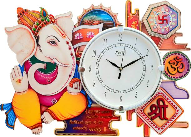 AJANTA Analog 30 cm X 40 cm Wall Clock