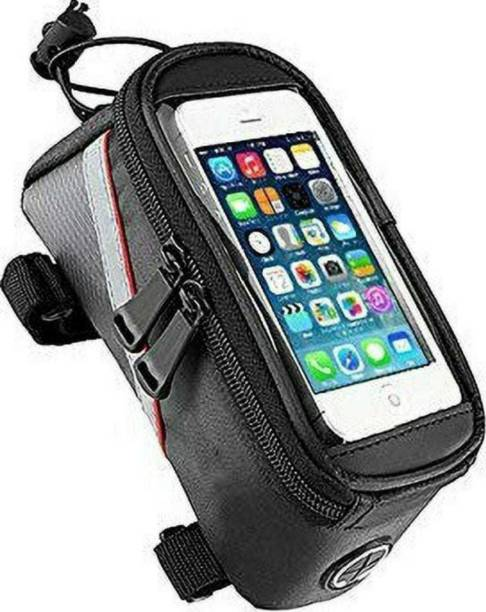 MURLI CHITRASHALA New Bicycle Mobile Phone Bag Waterproof Front Frame Sensitive Touch Screen Bicycle Phone Holder