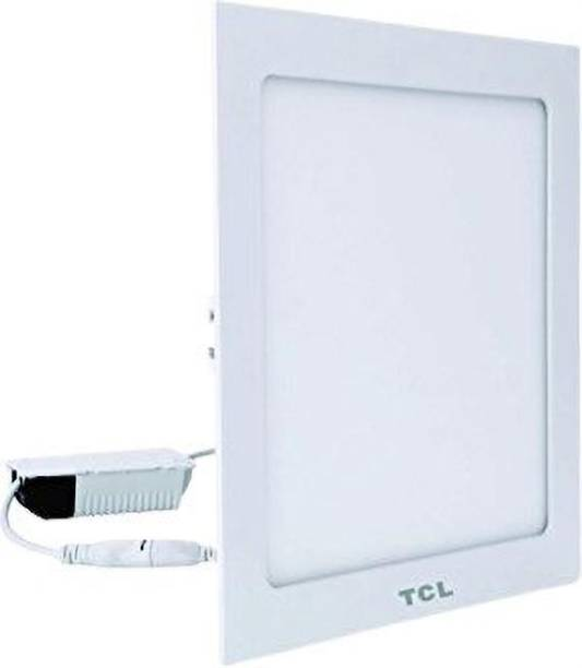 TCL LED ULTRA SLIM FLAT PANEL LIGHT - 18W - SQUARE- 6000K (COOL WHITE)- HEAT RESISTANT ALUMINIUM WHITE BODY- RECESSED/SURFACE/SUSPENDED INSTALLABLE Recessed Ceiling Lamp