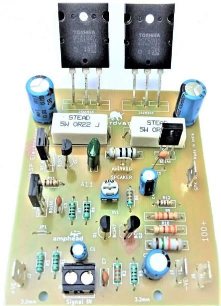 VASP Electronics 100 watt Assembled amplifier board using C5200 A1943 power transistors Electronic Components Electronic Hobby Kit