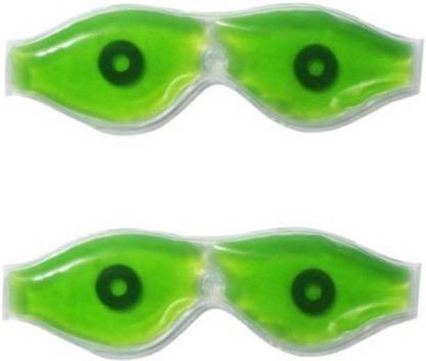 Ashni Instant Eye Relax Magnetic Gel Eye Mask Aloe Vera Based Pack Of 2