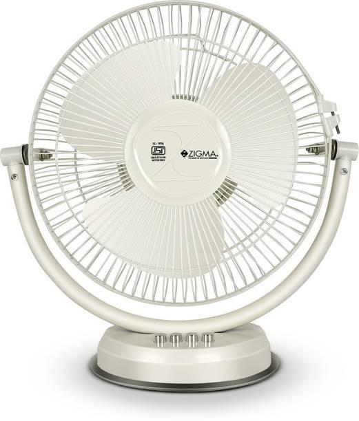 zigma TIKTIK Quiet Portable 300 mm Ultra High Speed 3 Blade Table Fan