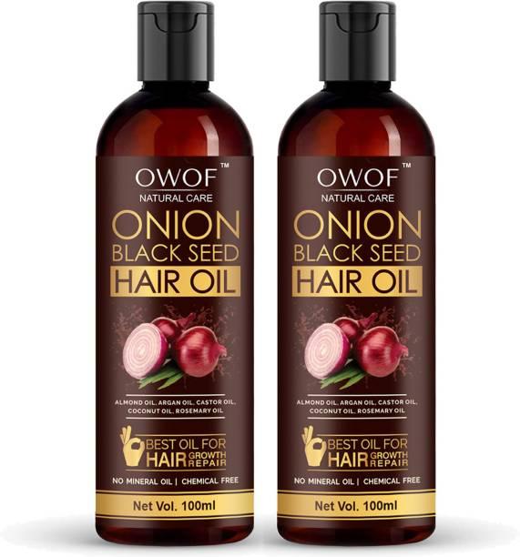 OWOF Onion black seed Hair Oil