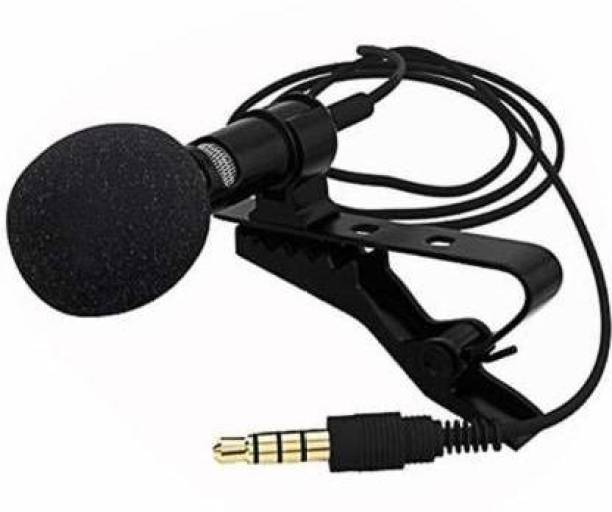 eduway 3.5mm Clip Microphone For Youtube | Collar Mike for Voice Recording | Lapel Mic Mobile, PC, Laptop, Android Smartphones, Microphone