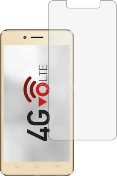 Fasheen Tempered Glass Guard for ITEL WISH A41 PLUS (ShatterProof, Flexible)