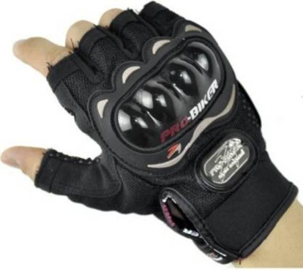 AOWBIKES Cycling Gloves (Black Cycling Gloves