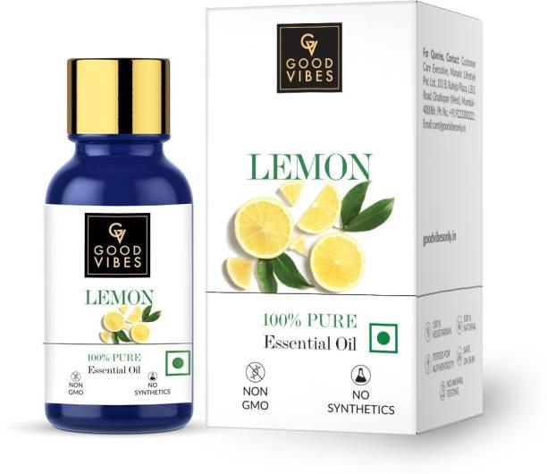 GOOD VIBES 100% Pure Lemon Essential Oil