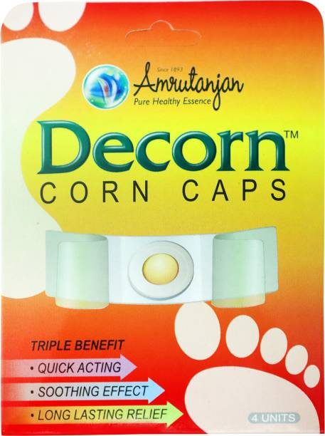 Amrutanjan Decorn Corn Caps Plaster & Patch
