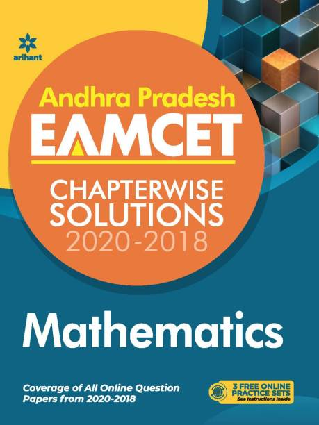Andhra Pradesh Eamcet Chapterwise Solutions 2020-2018 Mathematics for 2021 Exam