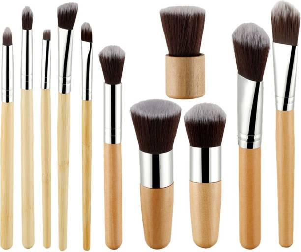 BELLA HARARO Super Soft Wooden Kabuki Brush Set