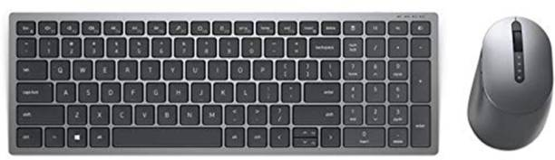 DELL KM7120W Original Wireless Keyboard & Mouse with Programmable Buttons Combo Set