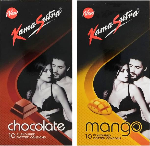 Kamasutra Chocolate and Mango Condom