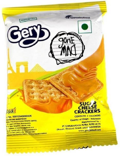 Gone Mad Gery Cheese Cracker Pack of 3(60 pcs)