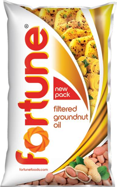 Fortune Groundnut Oil Pouch