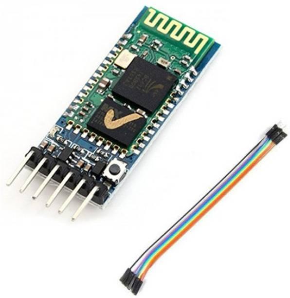Zaibtronix HC-05 Bluetooth Transceiver Module with TTL Output electronic hobby kit .School kit DIY hobby kit. Electronic Components Electronic Hobby Kit