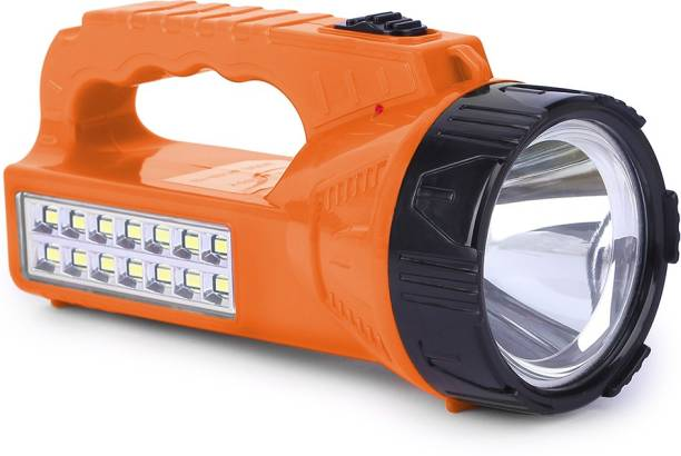 24 ENERGY Ultra Bright 14 LED Light with Solar Rechargeable Emergency Torch Emergency Light