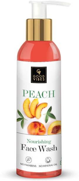GOOD VIBES Peach  Face Wash