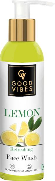 GOOD VIBES Lemon Refreshing  Face Wash