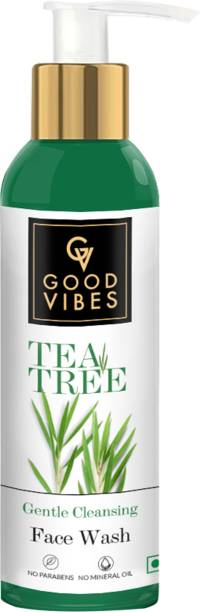 GOOD VIBES Gentle Cleansing  - Tea Tree Face Wash