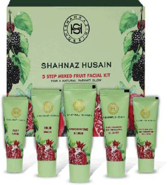 Shahnaz Husain Husain 5 Step Mix Fruit Facial Kit50g-1
