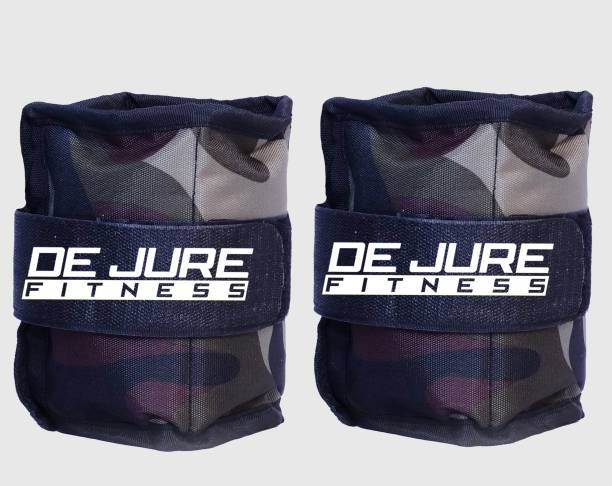 DE JURE FITNESS ANKLE WEIGHT ( Camouflage) 0.5 KG PAIR Green, Black Ankle Weight, Wrist Weight