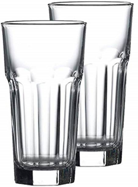BRIGHTLIGHT (Pack of 2) 400 ML Tumbler Glasses Juice Beer Whiskey and Cocktail Pack Glass Set