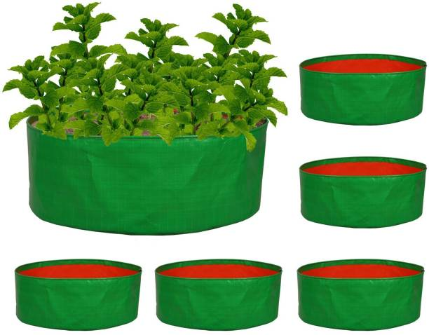 """Nabaat Terrace Gardening Grow Bags for Vegetables plants (21""""x8"""") – Pack of 5 Grow Bag"""