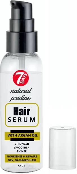 7 Days hair serum for straightened hair