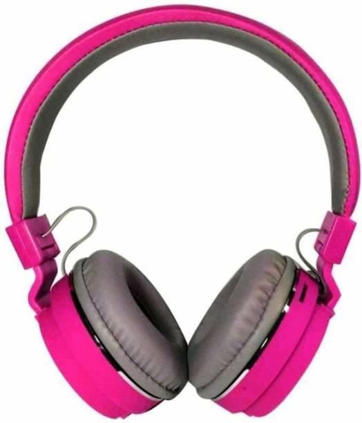 GadgetX SH-12 wireless/ Bluetooth Headphone with FM/SD Card Bluetooth Headset