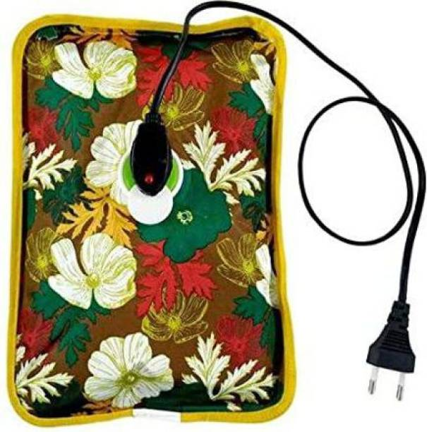 HEZKRT Electrothermal Hot Water Bag, Electric Heating Gel Pad-Heat Pouch Hot Water Bottle Bag Electric 1 L Hot Water Bag