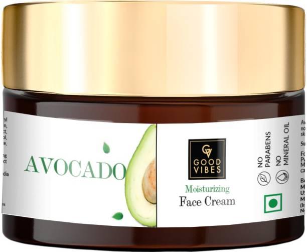 GOOD VIBES Moisturizing Face Cream - Avocado