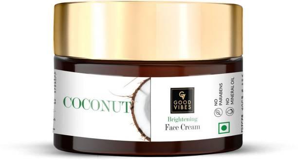 GOOD VIBES Brightening Face Cream - Coconut