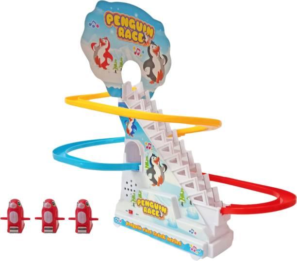 Toyshack Penguin Race Track Set