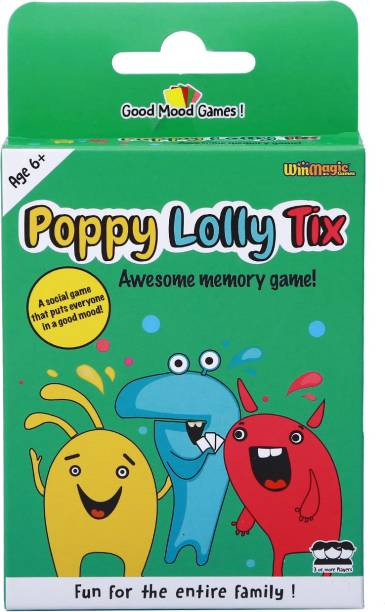 Good Mood Games Poppy Lolly Tix, Card Games, Develops auditory memory