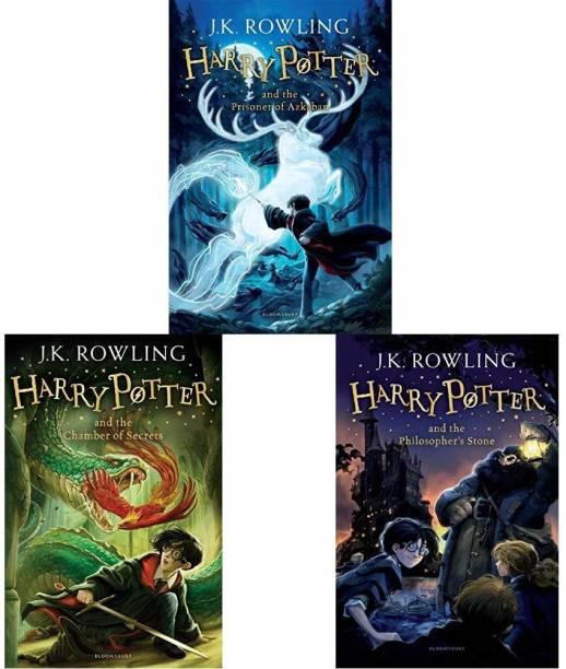 Harry Potter Book Set Of 1-3