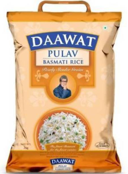 Daawat Pulao Bamati Rice Basmati Rice (Medium Grain, Polished)