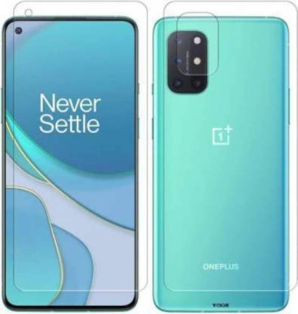 PR SMART Front and Back Tempered Glass for OnePlus 8t