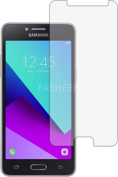 Fasheen Tempered Glass Guard for SAMSUNG GALAXY J2 PRIME (ShatterProof, Flexible)