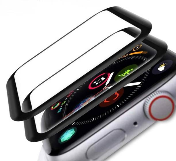 CallSmith Tempered Glass Guard for Apple Watch 42mm Series 3, Apple Watch 42mm Series 4, Apple Watch 42mm Series 5, Clear PMMA Glass, Tempered Glass Screen Protector for iwatch 42MM