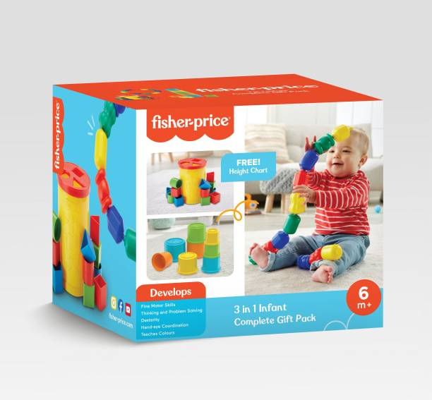 FISHER PRICE 3-in-1 Infant Complete Gift Pack