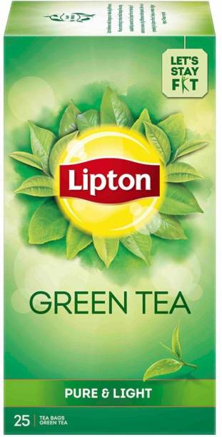 Lipton Pure & Light Green Tea Bags Box
