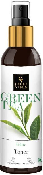 GOOD VIBES Glow Toner - Green Tea Men & Women