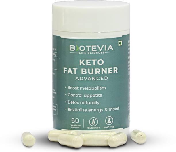 Biotevia Keto Garcinia Weight Loss Fat Burner Supplement Capsule for Women & Men