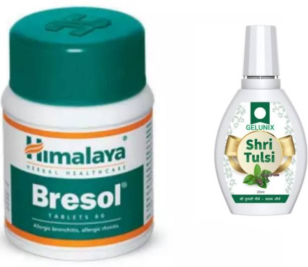 gelunix TULSI DROPS AND HIMALYA`` BRESOL TABLET