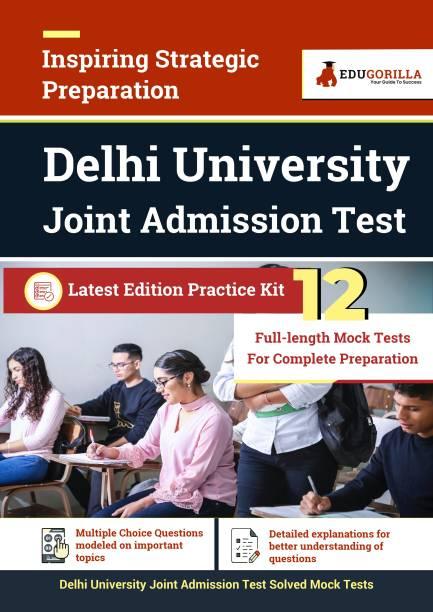 Delhi University Joint Admission Test (DU JAT) 2021 12 Mock Tests
